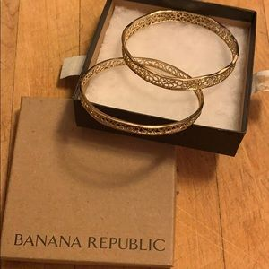 Banana Republic Gold Bangles